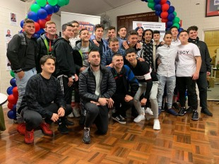 Under 17's presentation night