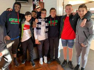 Under 15 Boys presentation day