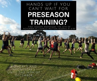 Pre-Season Training - November 13