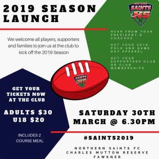 2019 Season Launch!