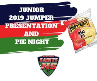 2019 Junior jumper presentation and pie night