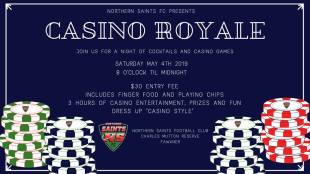 Casino Royale Evening this Saturday!