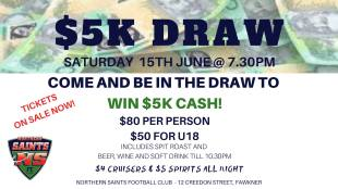 $5000 draw! Now on June 15!!