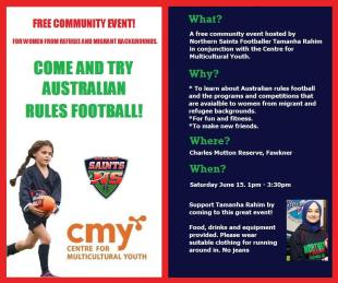 Come and try Aussie Rules community event!