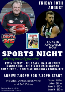 2018 Sportsmans Night!