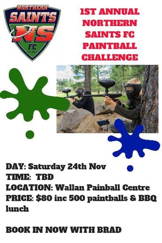Northern Saints Paintball Day!